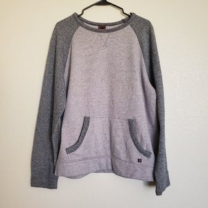 Tony Hawk Two Tone Gray Sweatshirt Sz XL